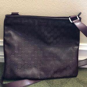 Gucci Messenger Bag . Authentic . RARE .
